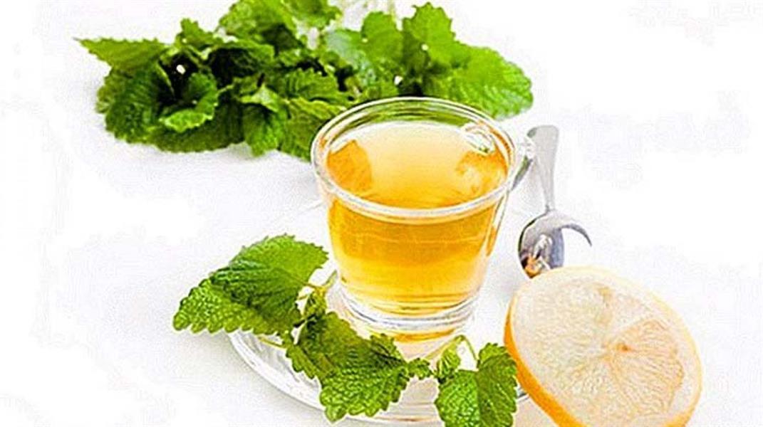 شاي بلسم الليمون