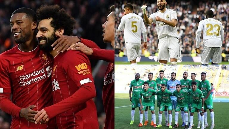 فريقان عربيان في قائمة الأندية العشرة الأكثر شعبية في يناير