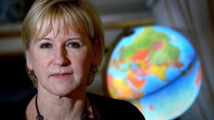 وزيرة خارجية السويد مارغو والستروم