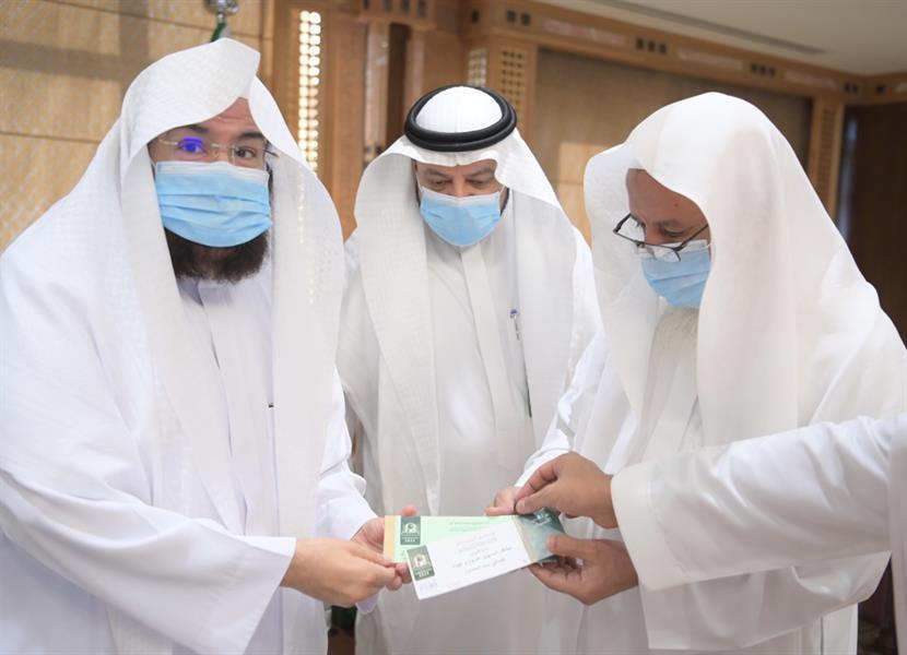 تدشين بطاقة تسهيل دخول وخروج المصلين من الحرم النبوي