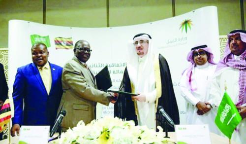 من توقيع الاتفاقية بين المملكة وأوغندا أخيرا