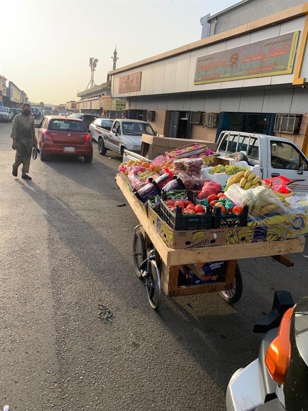 مصادرة 24 طن خضار وفاكهة من البسطات العشوائية بجدة