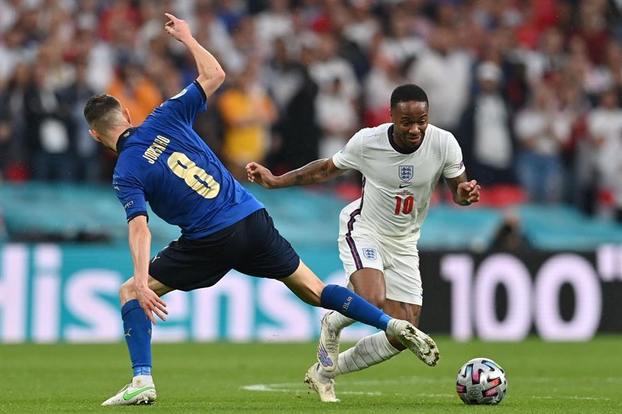 مباراة إنجلترا وإيطاليا