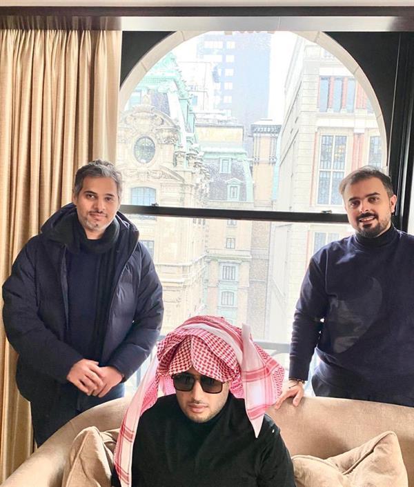 سالم الهندي ينشر صورة حديثة لتركي آل الشيخ ويعلق عليها