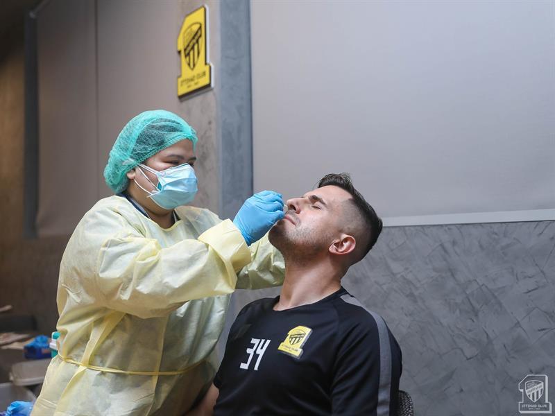 مسحة طبية للاعبي الاتحاد استعداداً للموسم الجديد (صور)