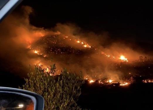 """متحدث """"الداخلية"""": تمت السيطرة على حريق السودة"""