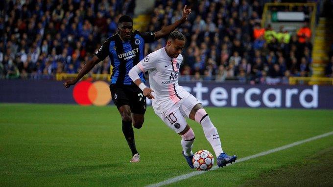 باريس سان جيرمان يسقط في فخ التعادل أمام كلوب بروج