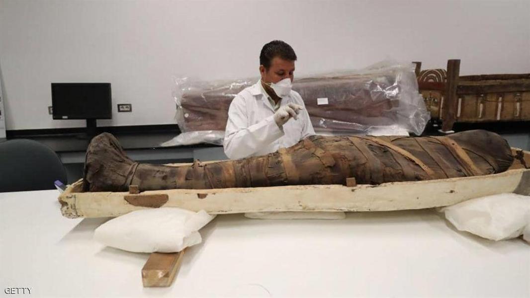 فيديو لمومياء مصرية تتكلم بعد 3 آلاف عام على تحنيطها