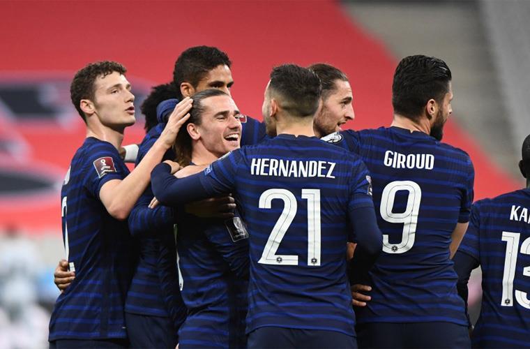 فرنسا تسقط في فخ التعادل أمام أوكرانيا بتصفيات كأس العالم 2020
