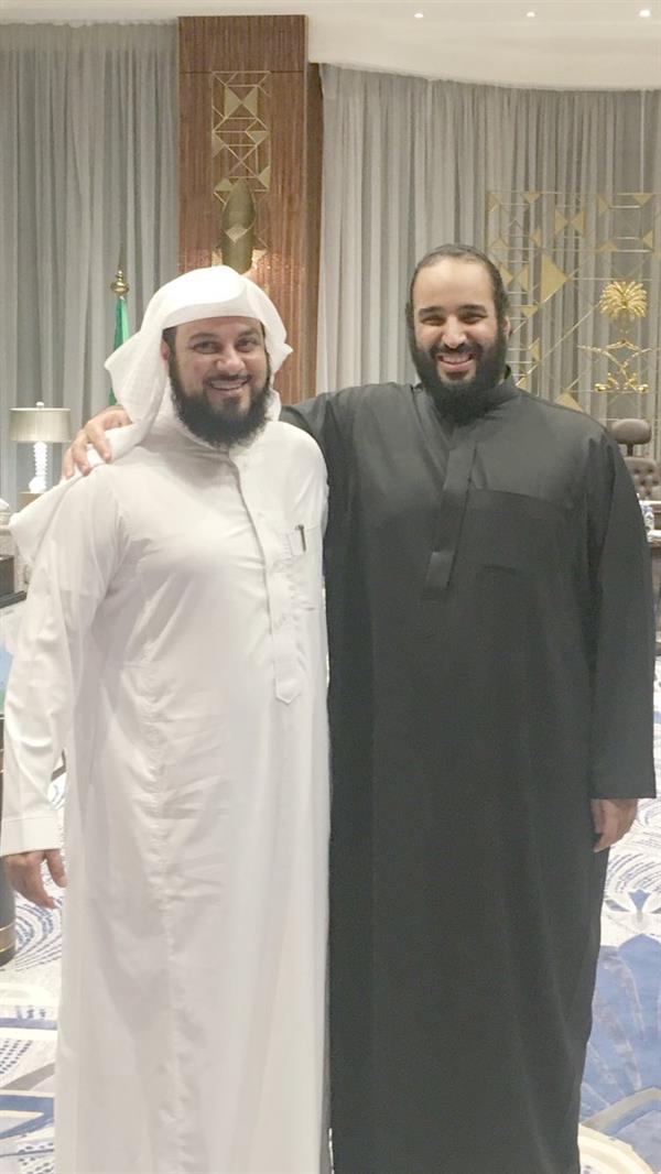الامير محمد بن سلمان بدون شماغ