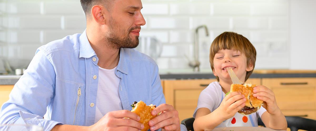 عادات الأكل المنتظمة