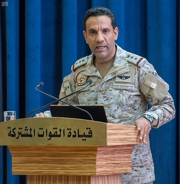 """اعتراض وتدمير طائرة بدون طيار """"مفخخة"""" أطلقتها المليشيا الحوثية باتجاه المملكة"""