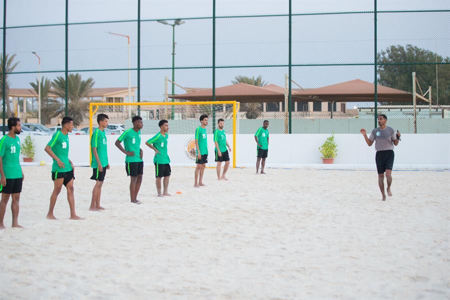 المنتخب السعودي للشاطيء