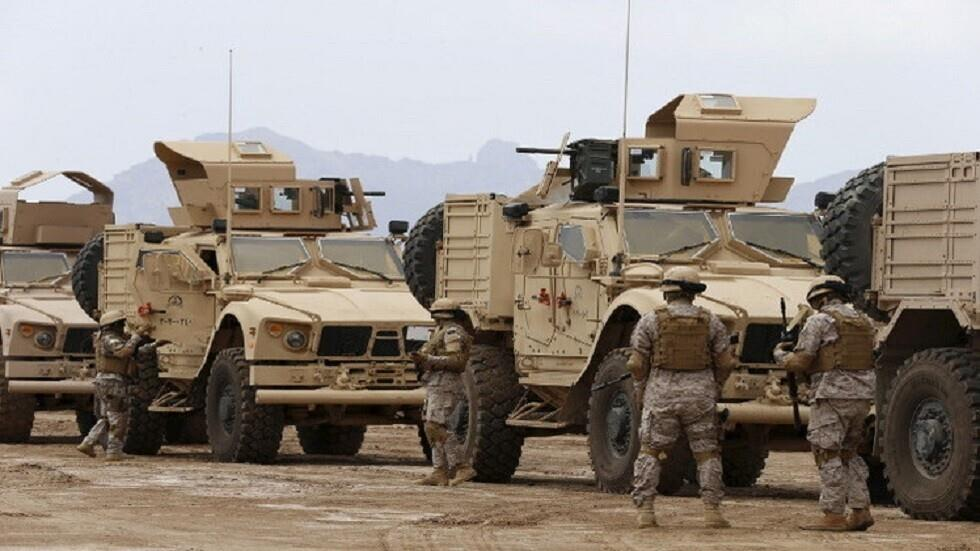 القوات العسكرية لتحالف العربي