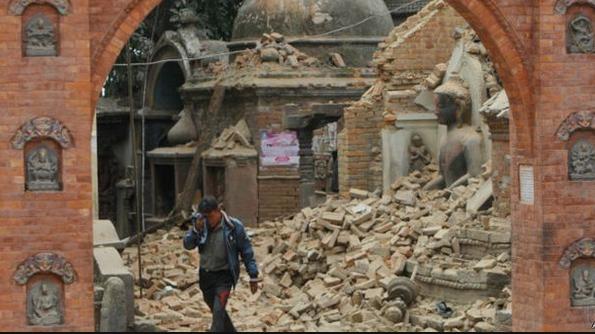 تضرر مباني تاريخيه بسبب الزازال