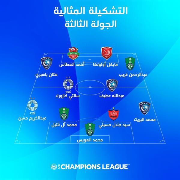 """سيطرة سعودية على تشكيل الجولة الثالثة بـ """"الآسيوية"""" وسط غياب لـ """"النصر"""""""