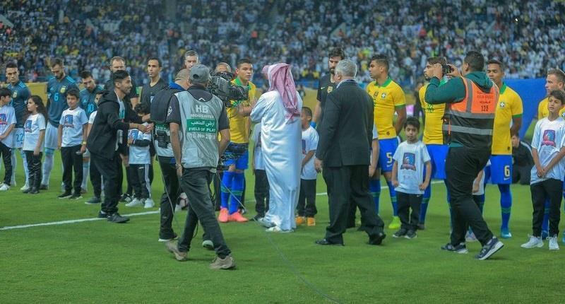 آل الشيخ: البرازيل والأرجنتين هما من حرص على تكرار اللعب في المملكة