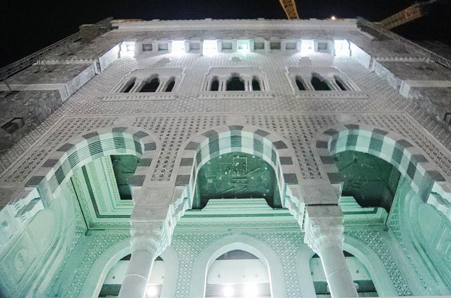 """""""السديس"""" يتفقد جاهزية باب الملك عبدالعزيز بالحرم المكي استعداداً لفتحه في الحج"""