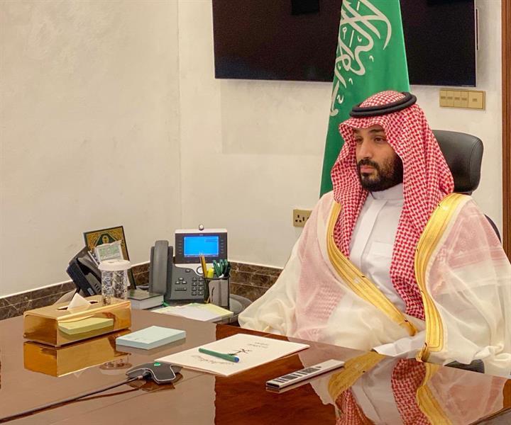 ولي العهد يقدم التهنئة لمنسوبي وزارة الدفاع بمناسبة عيد الفطر المبارك
