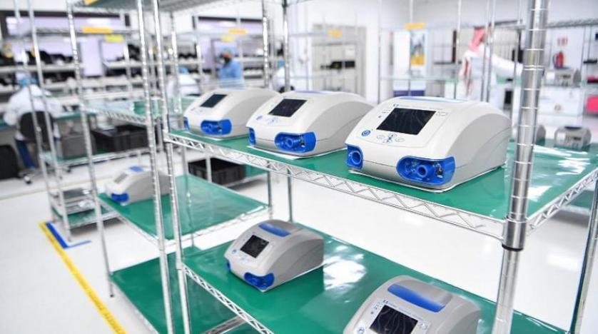 اجهزة التنفس الصناعي