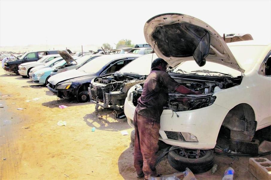 تشليح السيارات