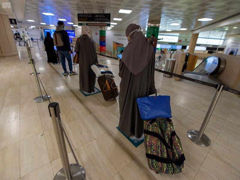 الرحلات القادمة من واشنطن إلى الرياض لنقل المواطنين