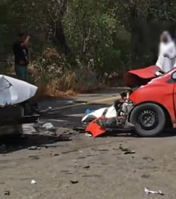 ضبط مواطنَين تسببا في حـادث مروري أدى لإصابة شخص ووفـاة زوجته بجازان