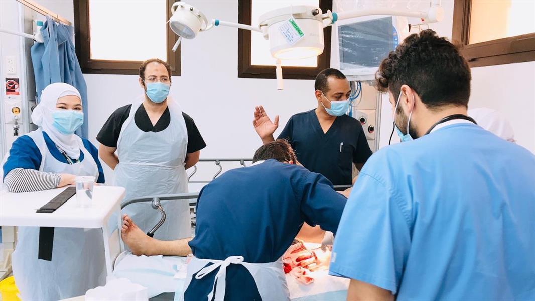 70 حالة قطع بالأيدي وجروح بسبب ذبح الأضاحي يستقبلها مستشفى الملك فهد ببريدة