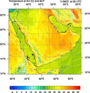 """""""الأرصاد"""" لسكان مكة والمدينة: درجات الحرارة تصل إلى 50° في الظل اعتبارًا من السبت المقبل"""