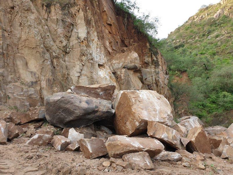 انهيارات صخرية