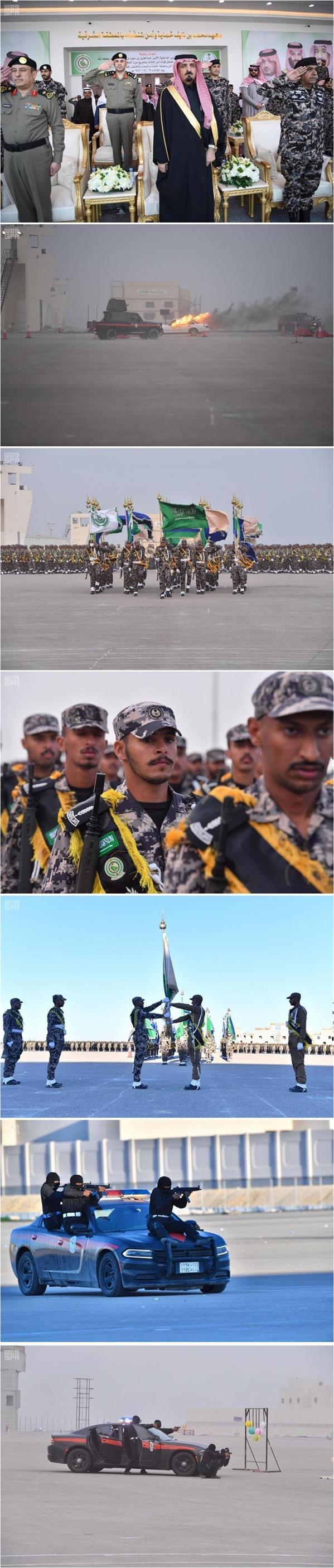 قوات أمن المنشآت تحتفل بتخريج عدد من الدورات التخصصية بمعهد محمد بن نايف