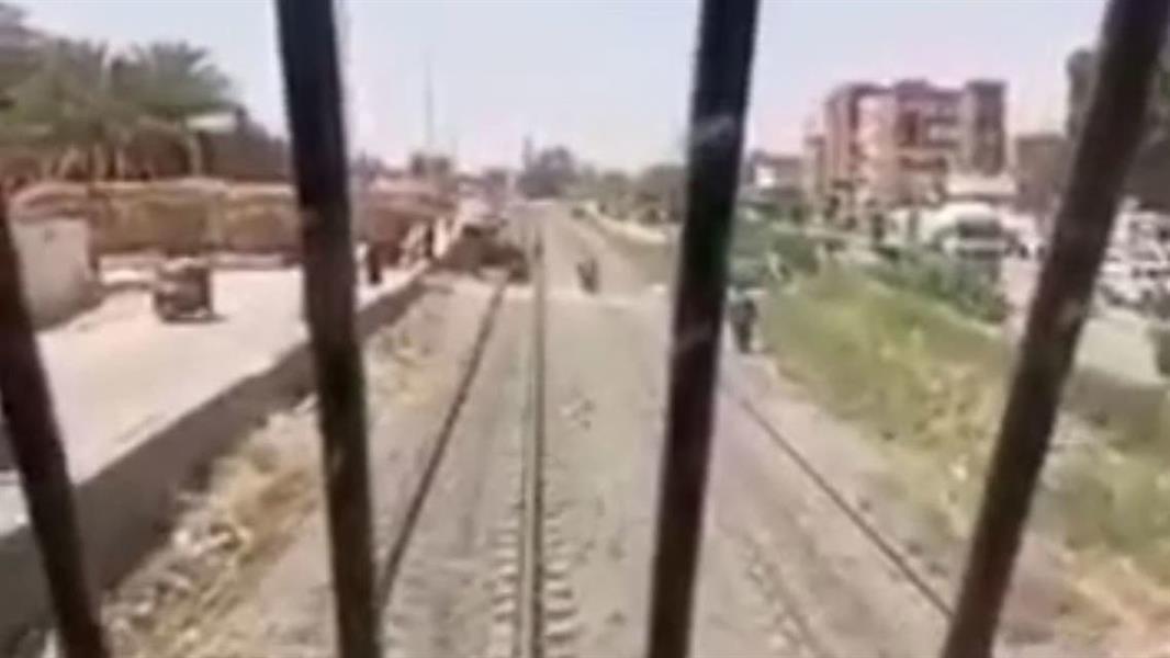 يقظة سائق قطار مصري تحول دون وقوع كارثة جديدة