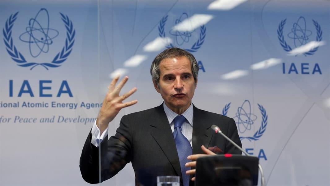 مدير عام الوكالة الدولية للطاقة الذرية رافائيل غروسي
