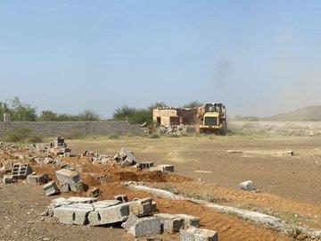 إزالة تعديات بمساحة نصف مليون متر بمحافظة بيش وتسليمها للبلدية