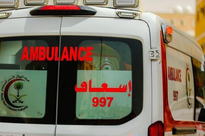 مصرع شخص وإصابة 9 في حادث مروري على طريق عفيف - ظلم