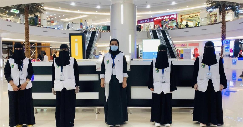 """صور.. ضبط 7 مراكز تسوق مخالفة للإجراءات الاحترازية بـ""""عسير"""""""