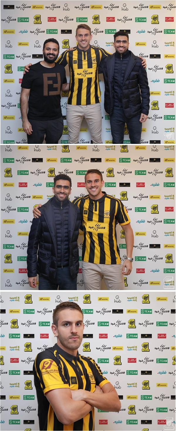 الاتحاد يضم لاعب النصر السابق البرازيلي برونو أوفيني