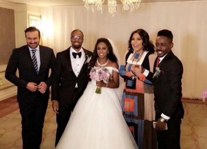 شاهد.. لقطات من حفل زفاف الفنانة السعودية داليا مبارك في تركيا