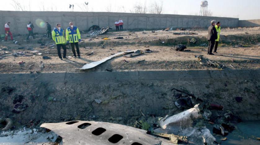 صورة من تحطم الطائرة