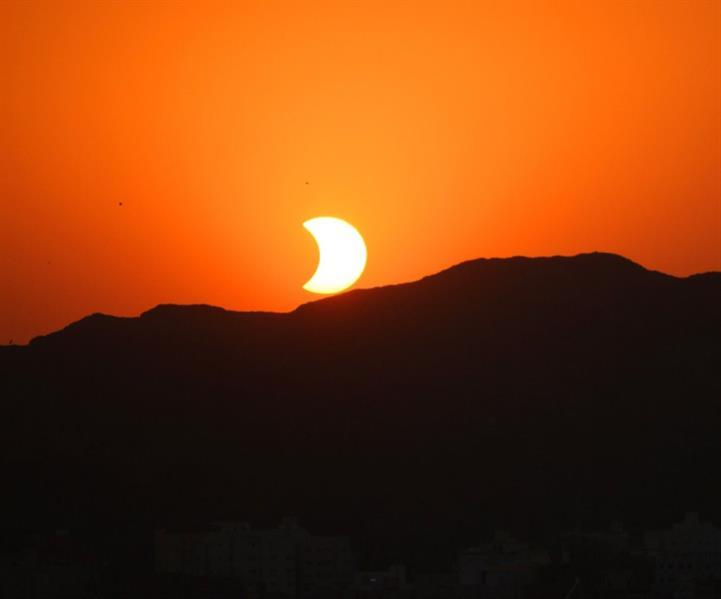 كسوف الشمس في سماء المملكة