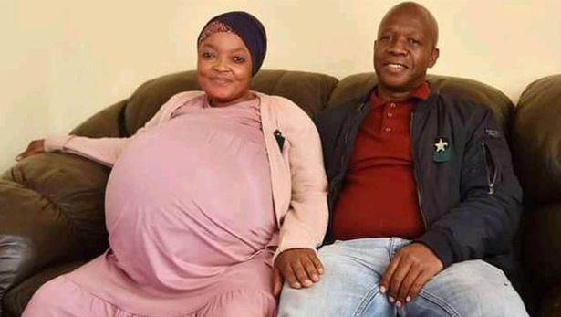 امرأة تحقق رقما قياسيا بوضعها 10 مواليد في جنوب إفريقيا