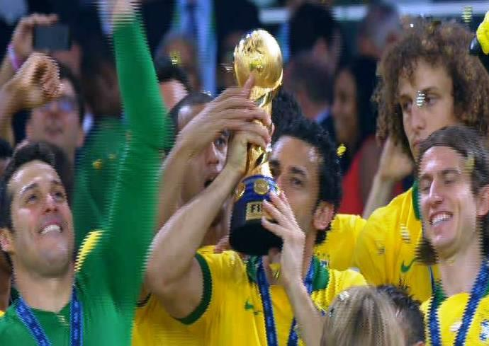 البرازيل تحرز اللقب للمرة الرابعة