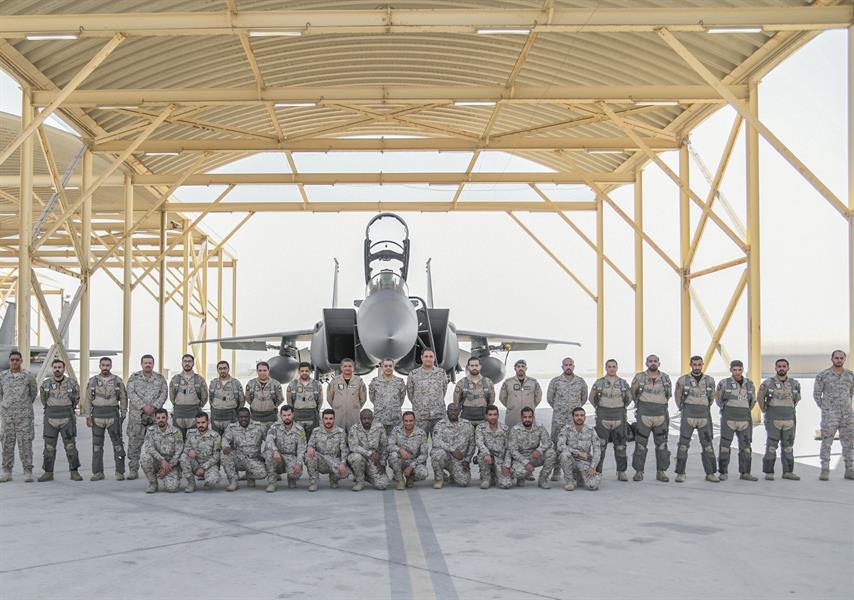 وصول القوات الجوية المشاركة في تمرين مركز الحرب الجوي الصاروخي