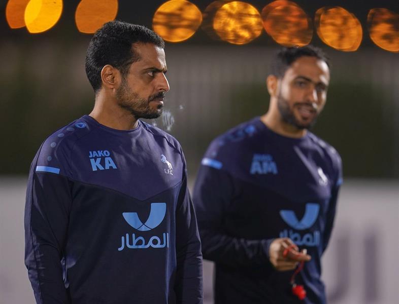 خالد العطوي بتدريبات الاتفاق
