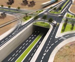 مخطط مشروع تطوير طريق الملك فهد بالاحساء