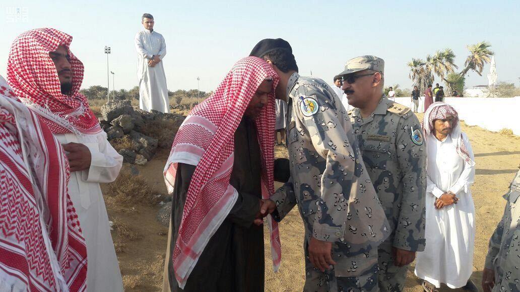 بالصور.. تشييع جثماني الشهيدين عبد الرحمن وطالع الهلالي في عسير