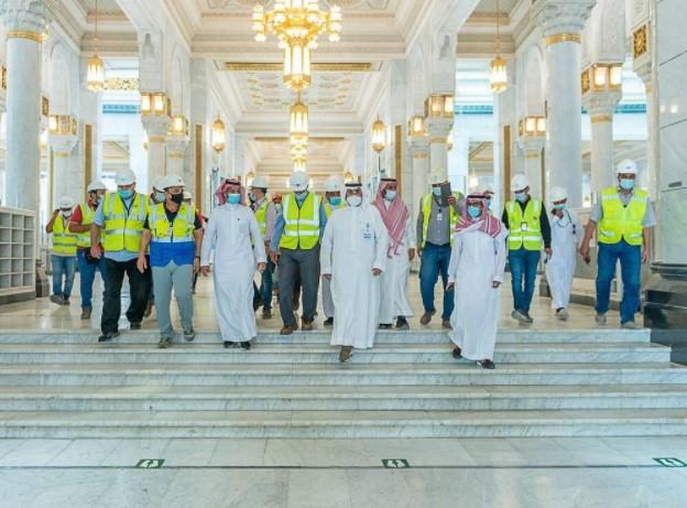 جاهزية التوسعة الثالثة بالمسجد الحرام لاستقبال المصلين خلال شهر رمضان