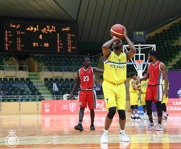 النصر بطلا لدوري كرة السلة لأول مرة في تاريخه