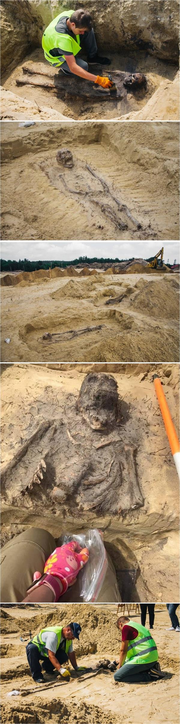 اكتشاف مقبرة جماعية للأطفال حيّرت العلماء في بولندا