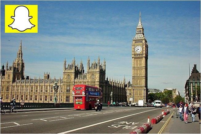 سناب شات يستقر في لندن